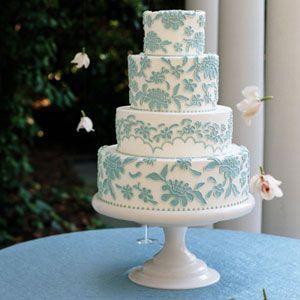 Mariage Bleu De Tiffany Plus Beaux Gâteaux De Mariage