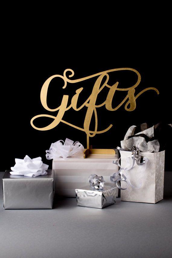 Ideas Wedding Gifts Table Sign 2136924 Weddbook