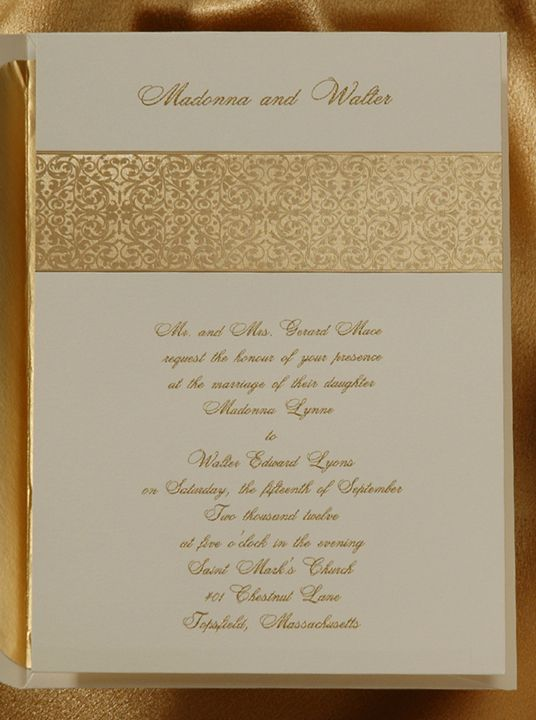 Mariage - Invitation Livre d'or