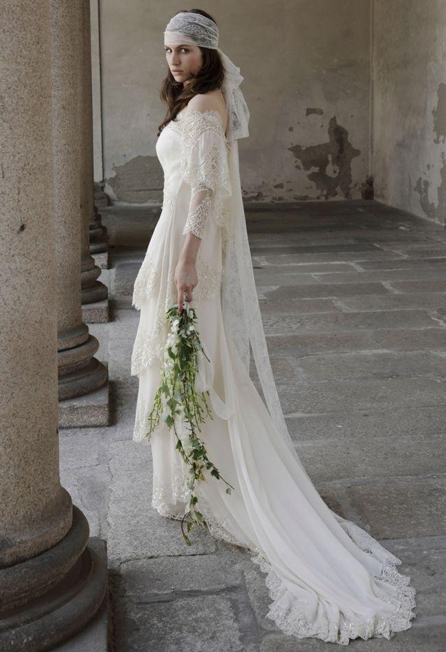Hochzeit - Alberta Ferretti Frühling 2014 Brautkleider