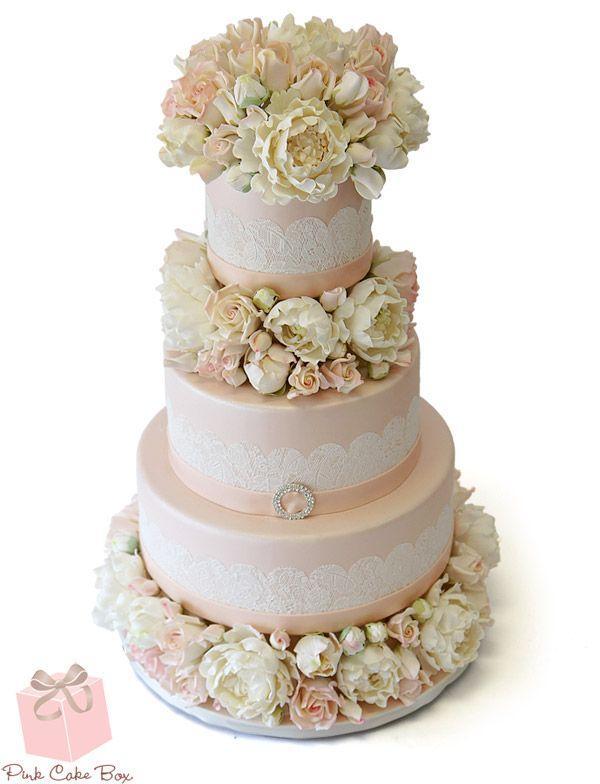 Inspiriert Lace Hochzeitstorte Fruhling Hochzeitstorten 2137423