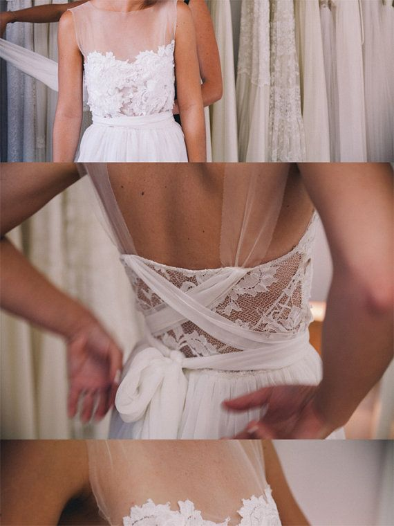 Invisible Wedding Dress