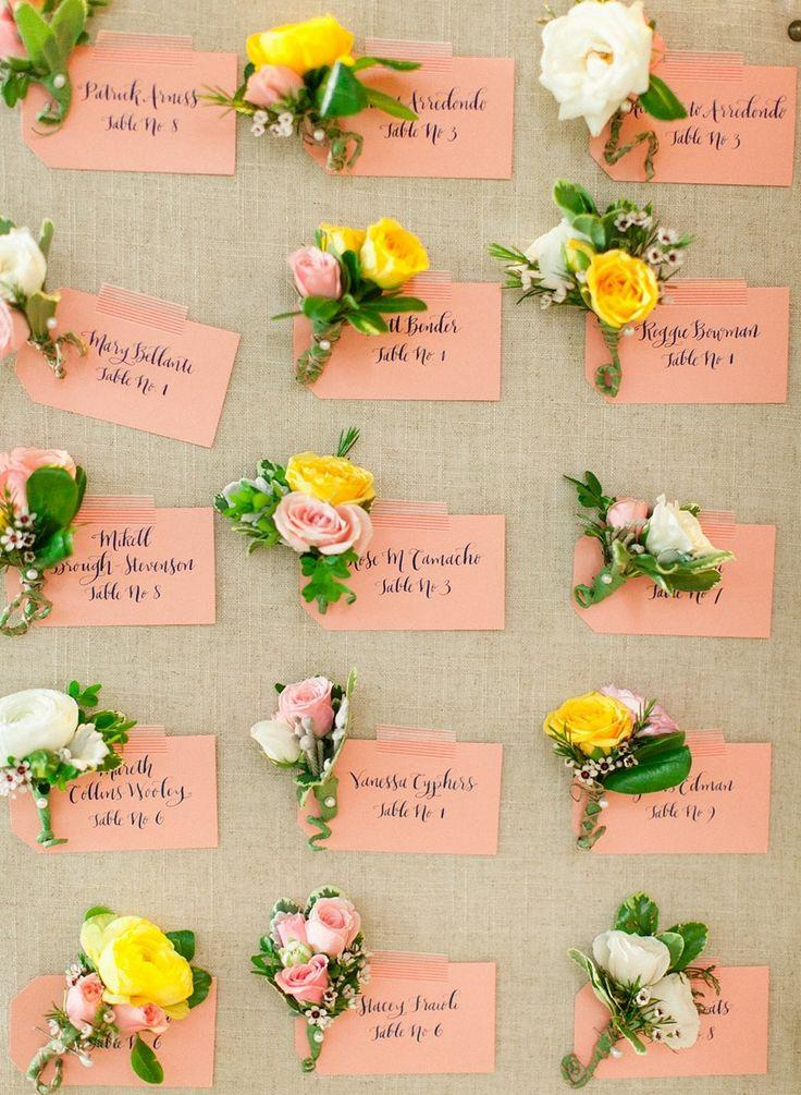 Wedding - Wedding Escort/Place Card Table Ideas