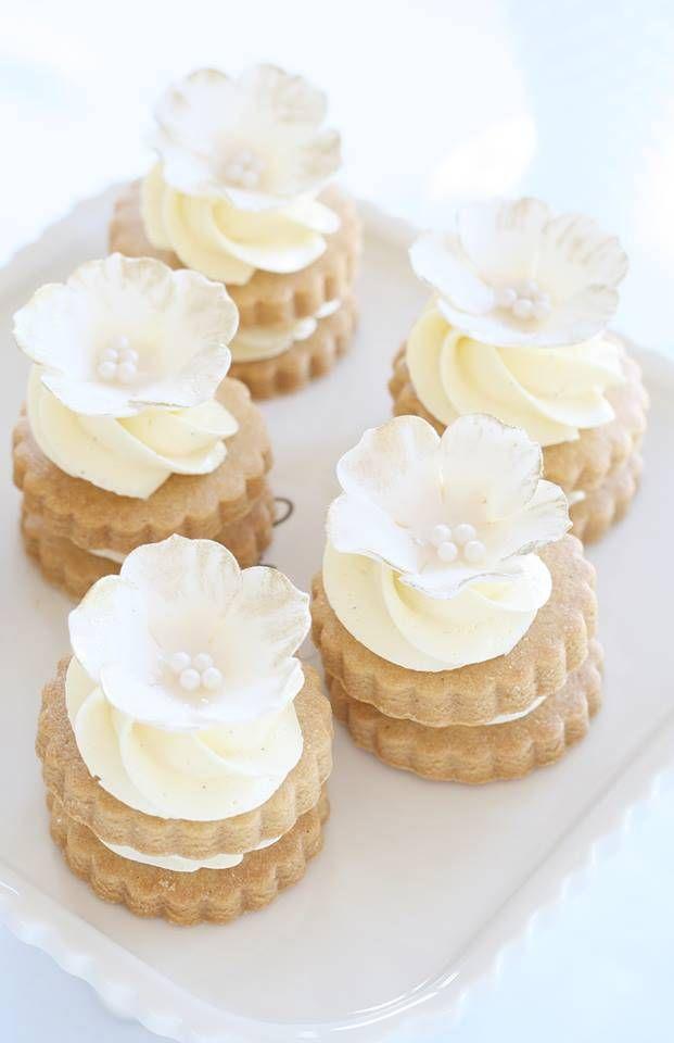 Wedding - White wedding creamy cake