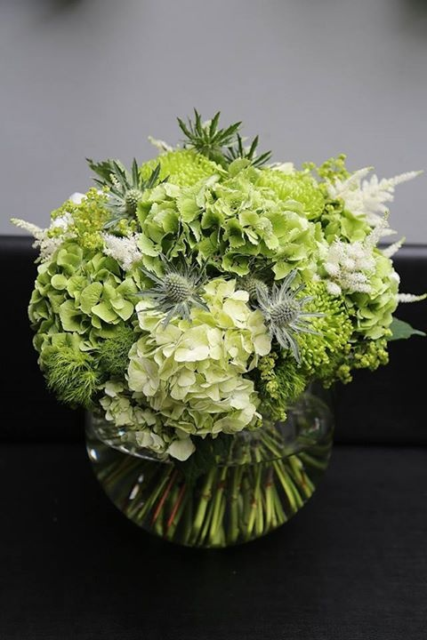 Wedding - Bouquets In Green