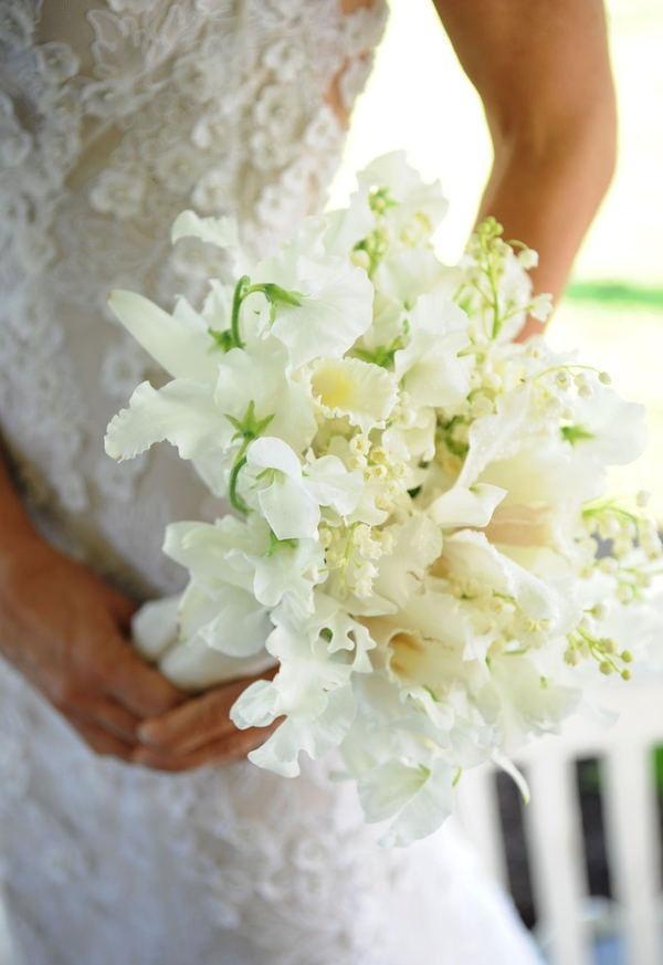 Wedding - Bouquets In White