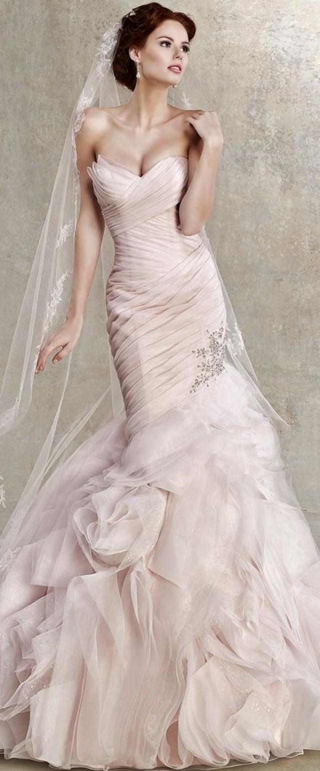 Blush wedding wedding pink blush 2139097 weddbook for Blushing pink wedding dress