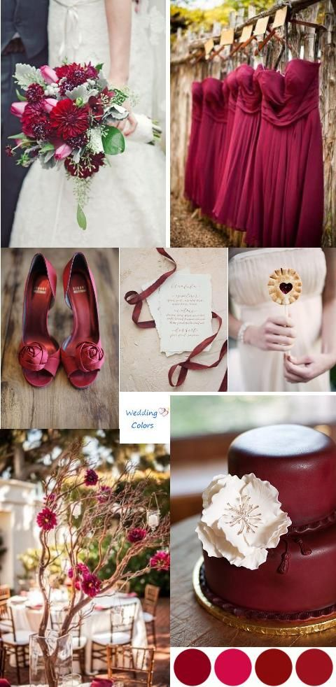 Red Wedding - Color Inspiration #2139122 - Weddbook