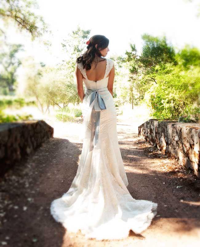 Mariage - Un mariage extérieure orange et bleu dans Hopland, CA par Julie Mikos Photographie