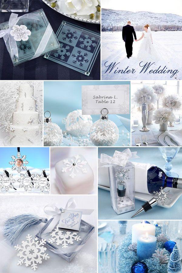 Свадьба - Зимняя страна чудес свадьбы