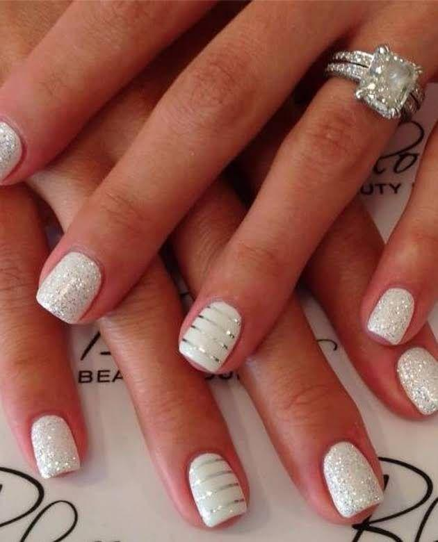 Wedding - 4 Fun Manicure Ideas That Will Flaunt Your Engagement Ring!