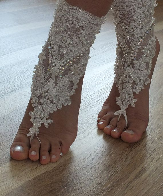 Beach ShoesUnique Design Bridal Sandals Lariat Wedding Bellydance Gothic Shoes Summer Wear Handmade