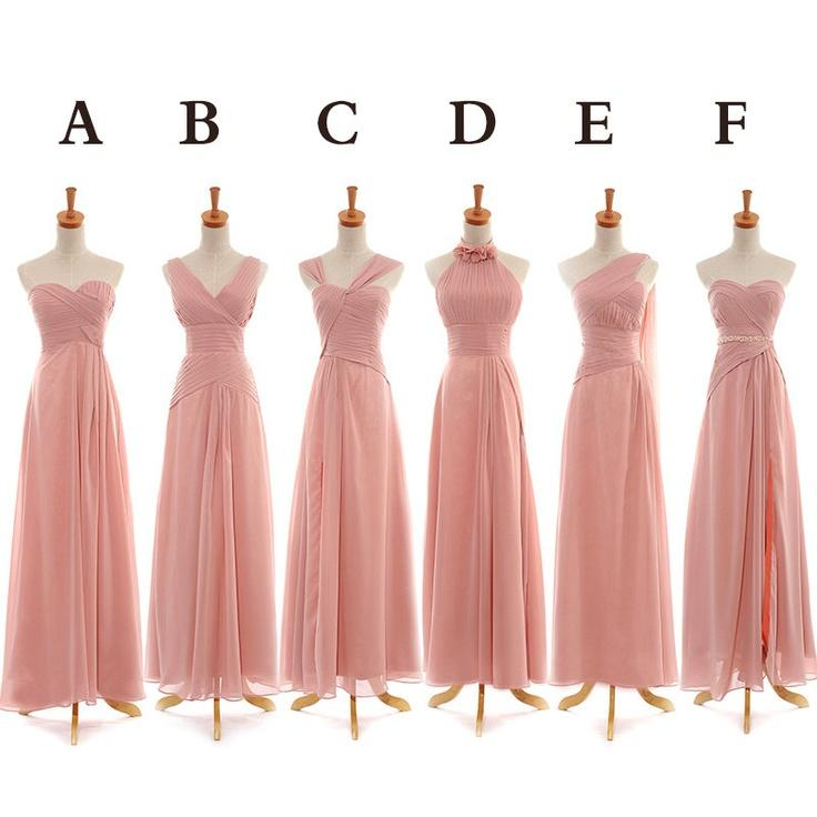 Kundenspezifische Lange Chiffon-Abend-Partei-Kleid Abendkleid ...