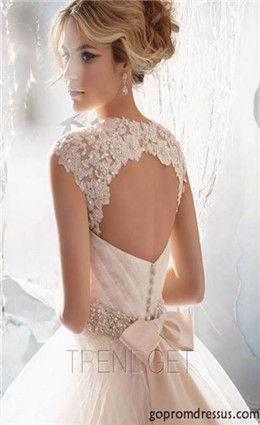 965c72cfb0d884 New White A-Linie Brautkleid Kleid Benutzerdefinierte Größe 2-4 -6-8-10-12-14-16-18