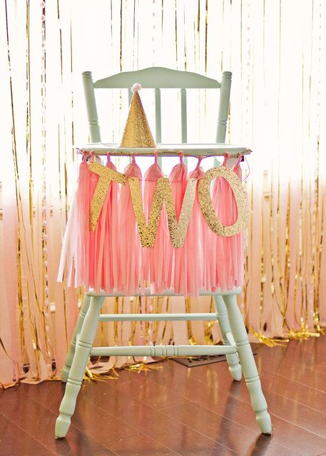 Bridal shower pink and gold birthday party ideas for 2nd birthday decoration ideas
