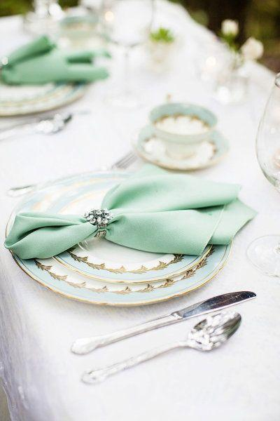 Wedding - Mint Wedding Table - Seriously Sabrina Photography