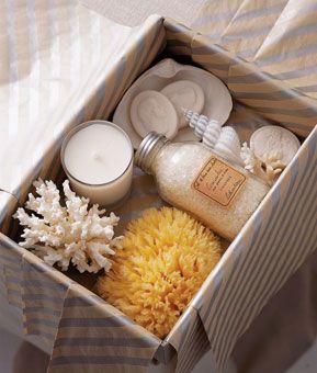 Ideas - Luxe Spa Wedding Welcome Basket #2141511 - Weddbook
