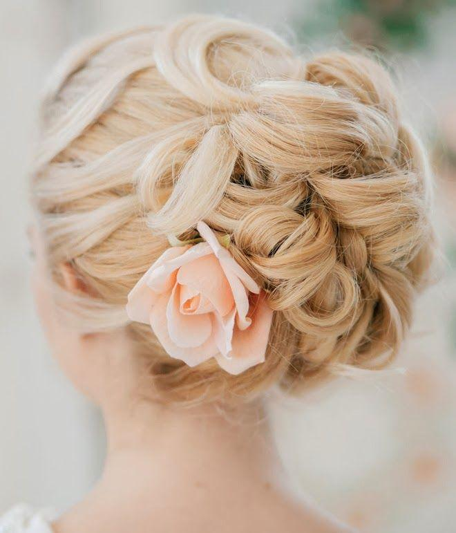 Wedding Hairstyles - Stylish And Cute Wedding Hairstyles #2141526 ...