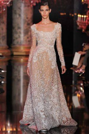Wedding - Elie Saab Fall 2014 Couture Collection