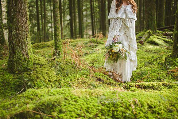 Woodland Fairy Wedding Shoe Inspiration
