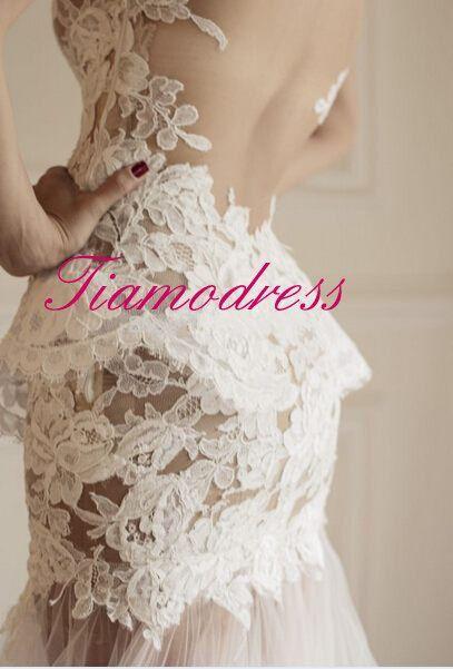 Mariage - Robe de mariée pur à la main robe de bal Robe de mariée à la main Église mariage robe de bal Robe de mariée Robe de mariée