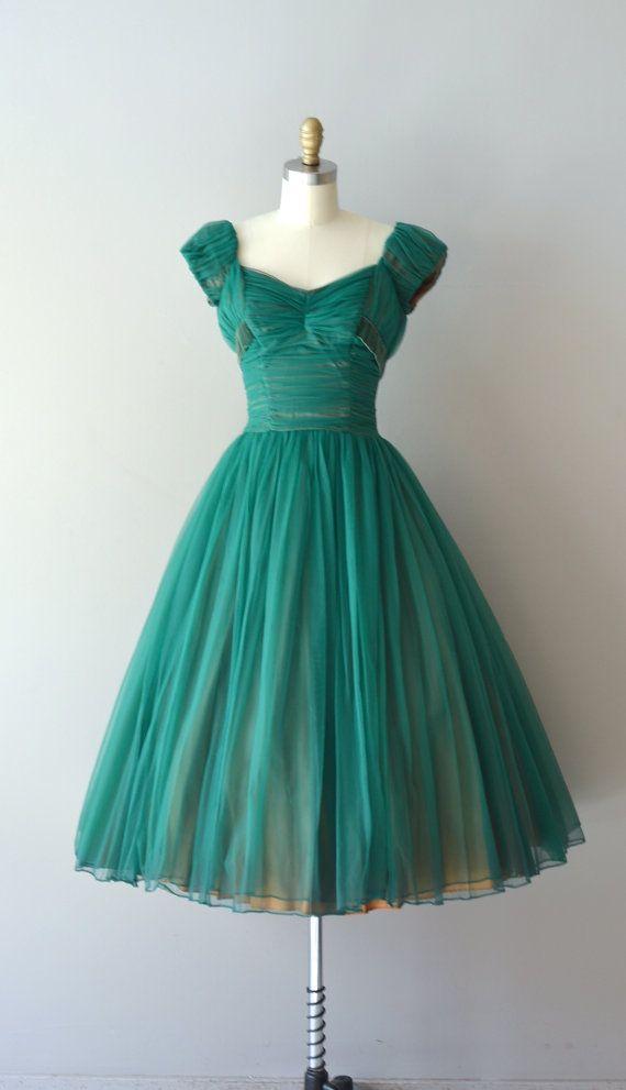 Paradise Vestido RESERVA D ... 1950 / Vestido Vintage Años 50 ...