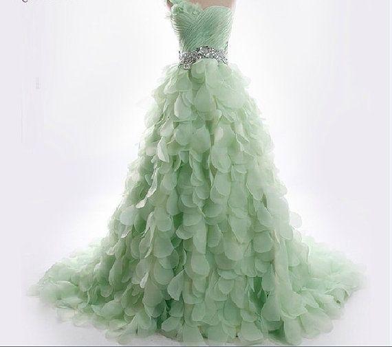 Hochzeitskleid Reine Handgemachte Hochzeitsballkleid Brautkleid ...