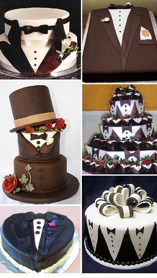 Mariage - Un gâteau pour le futur mari