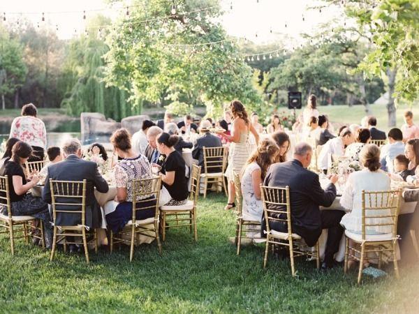Hochzeit - Hinterhof-Garten-Hochzeit in Nordkalifornien