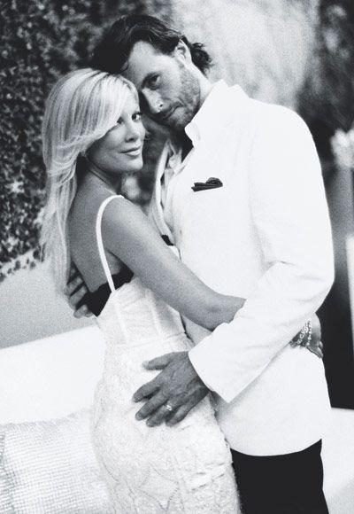The Best Dressed Celebrity Brides Of All Time - Tori Spelling ...
