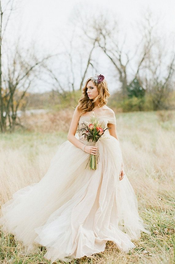The Marie Dress Whimsical Tulle Wedding Ballgown 2143558