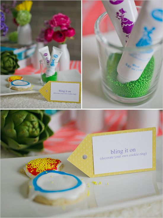 Wedding - Colorful Bridal Shower Ideas