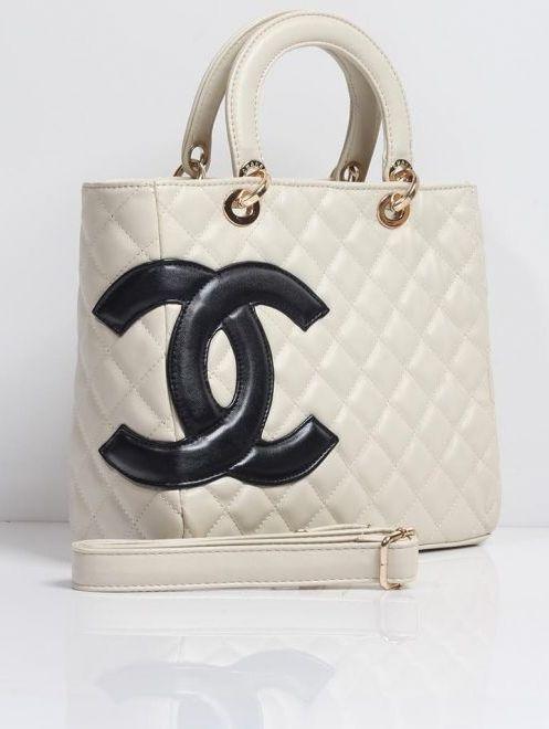 زفاف - Chanel White Ladies Luxury Handbag