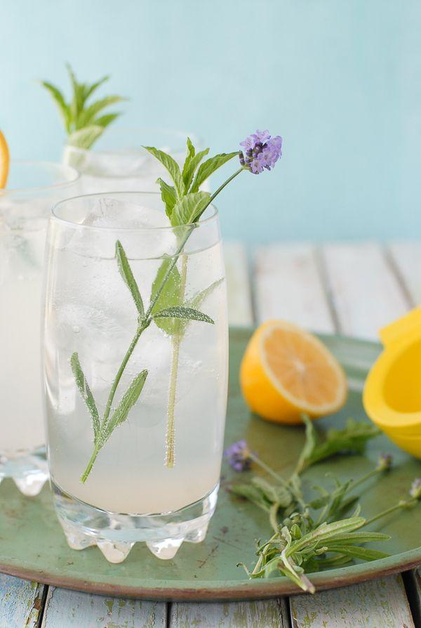 Wedding - Meyer Lemon Lavender Mojitos