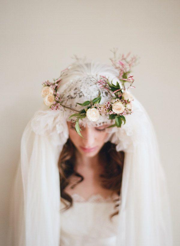 Hochzeit - Eine frische Blume Hochzeits-Krone