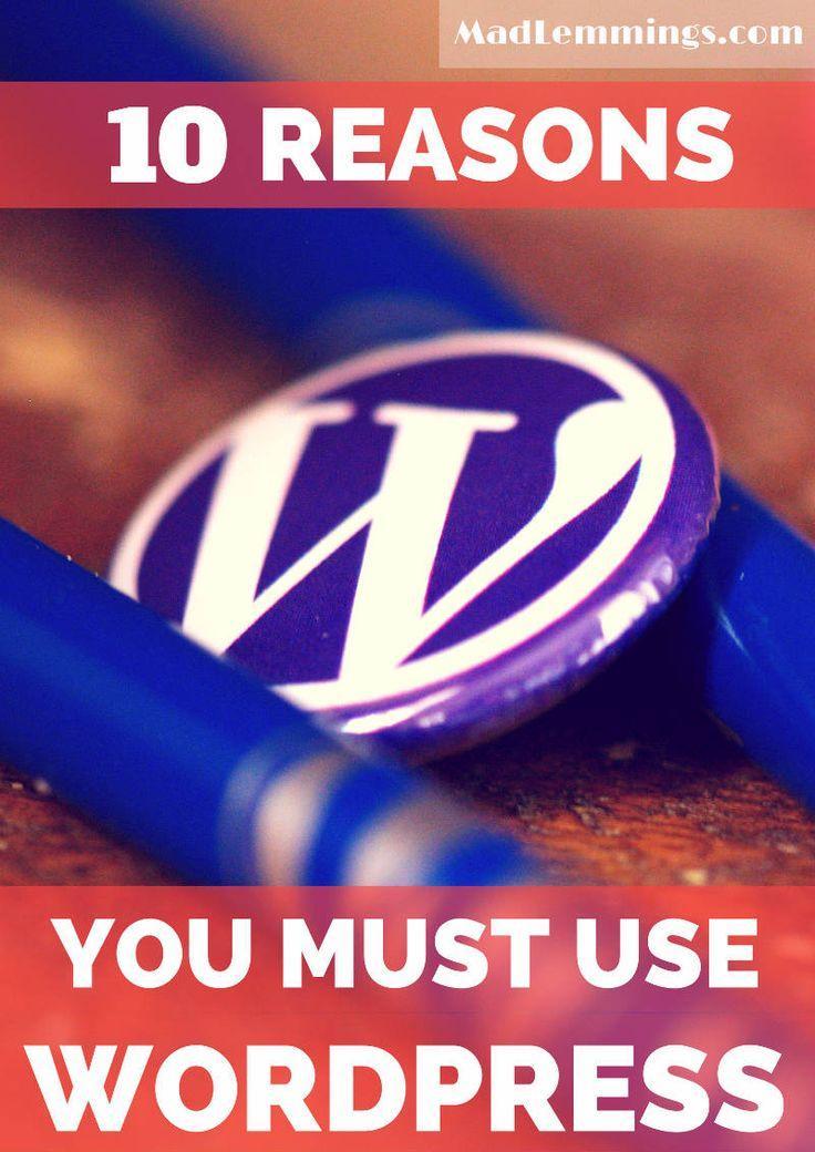 Hochzeit - 10 Gründe, warum Sie müssen Wordpress
