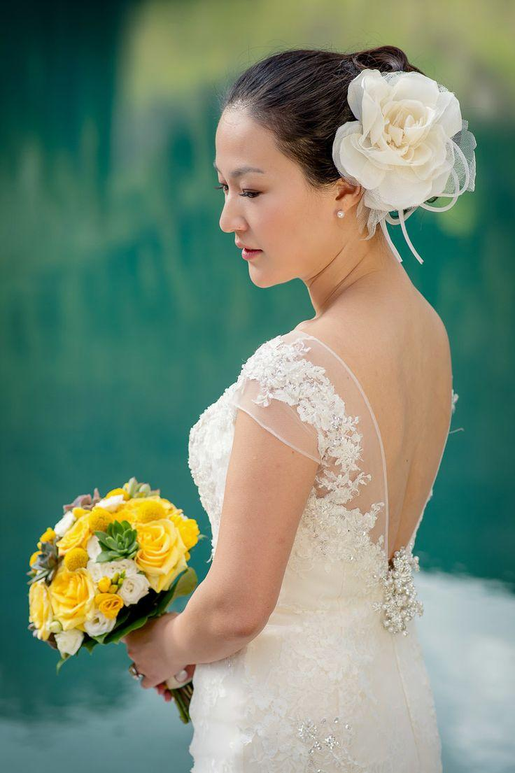 Hochzeit - Korean Paebaek Verleihung in den kanadischen Rockies