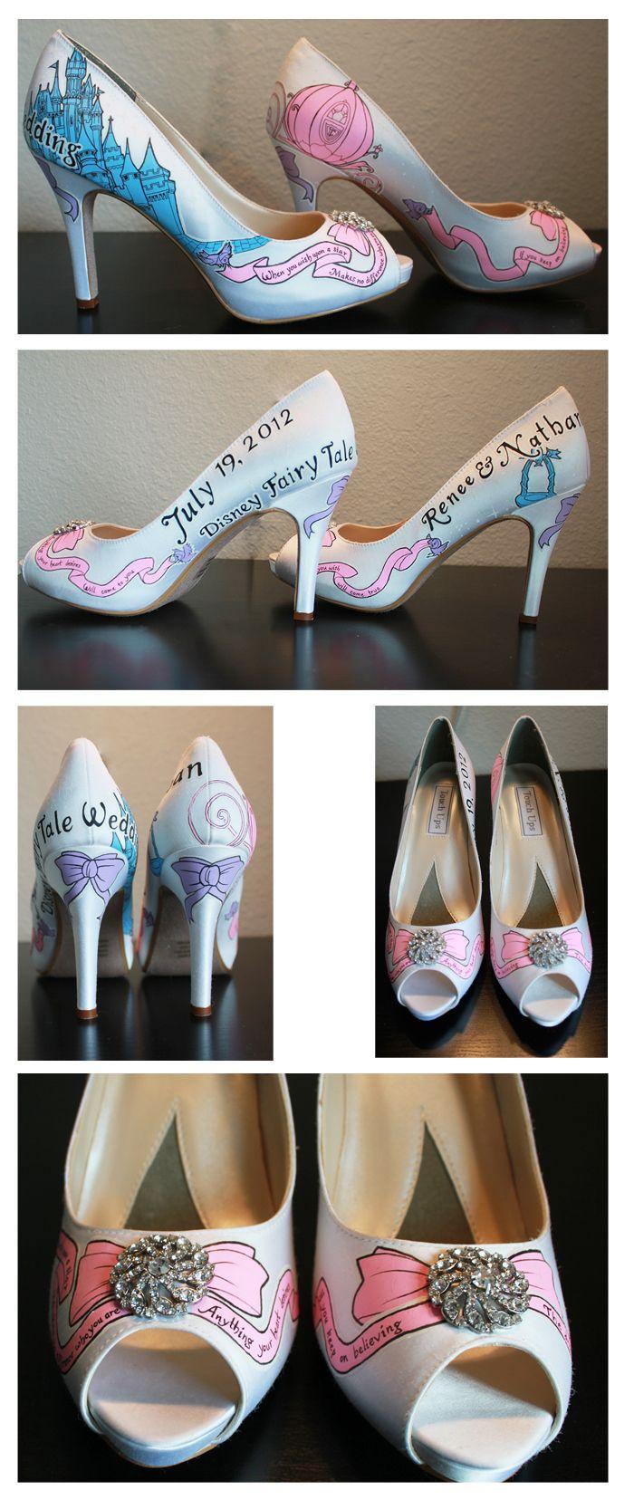 Wedding - Custom Designed Shoes By BeeBee