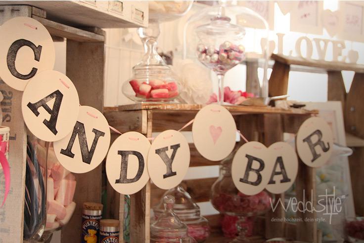 Wedding Candy Candy Bar Wimpelkette 2145379 Weddbook