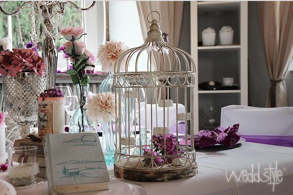 Свадьба - Vintage-Vogelkäfige für Hochzeitsdeko mieten