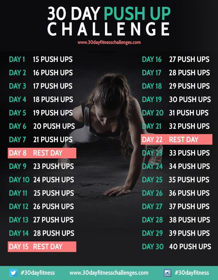 Health And Beauty - 30 Day Push Up Challenge Fitness Workout
