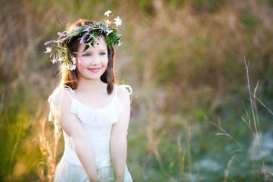Свадьба - Девушки цветка и кольцевых Носителями
