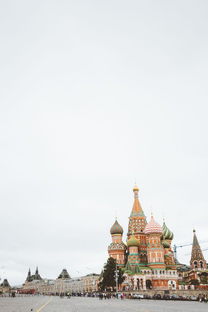 Wedding - St Basil Cathedral In Moscow