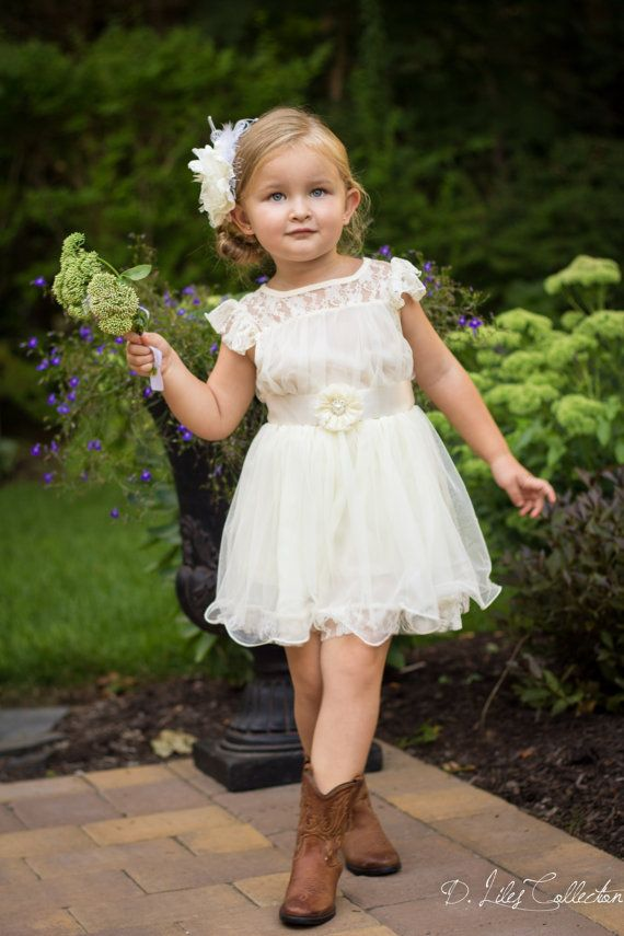 Flower Girls & Ring Bearers - Chiffon Flower Girl Dress #2146181 ...