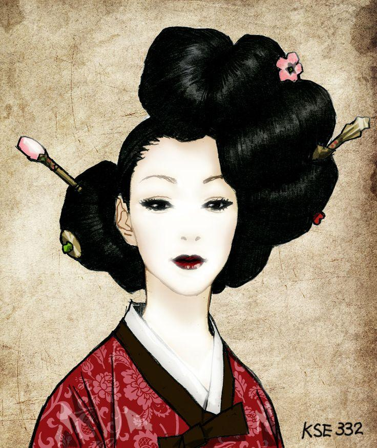 Traditional Geisha Hair Accessories Related Keywords