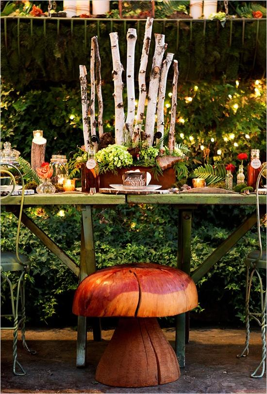 Wedding Theme Woodland Wedding Decorations 2146981 Weddbook