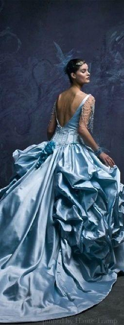 Wedding - Gowns......Beautiful Blues