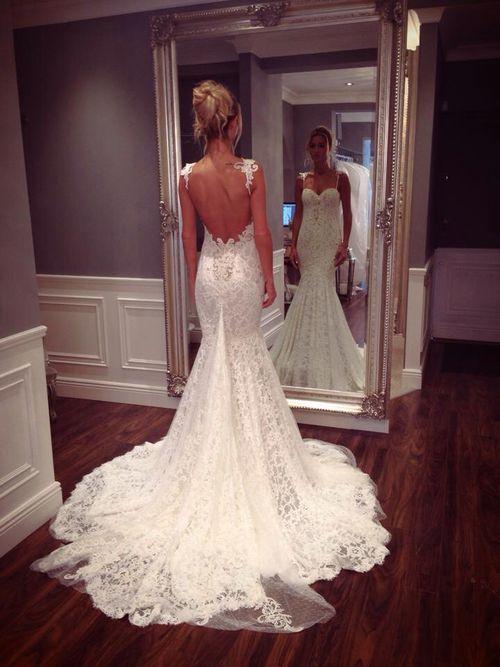 Düğün - Backless Gelinlikler