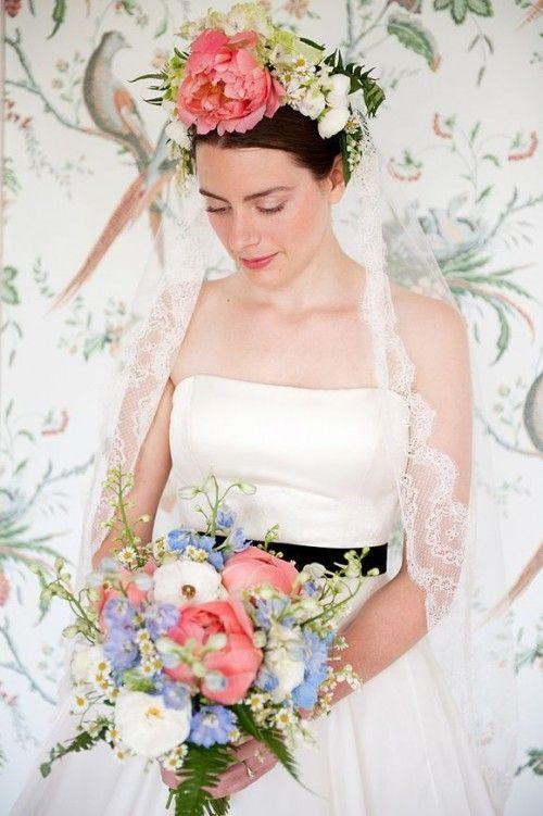 Hochzeit - Hochzeiten-Braut, Schleier