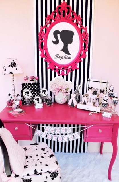 776a1851488 Vintage Barbie Birthday Party! - Kara s Party Ideas - The Place For All  Things Party
